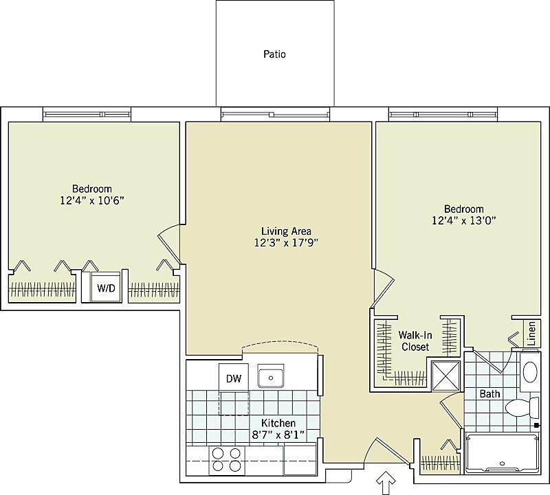 The Flagstaff Interactive Floor Plan